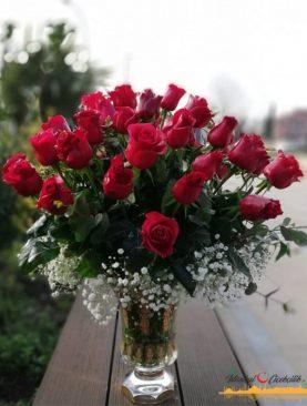 Romantik Kalpler 31 Kırmızı Gül