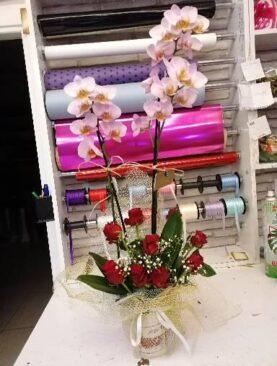 Orkide ve gül (Kopya)